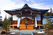 Shrine at Higashiyama Temple Area, Hida, Takayama, Japan