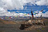 Mountain landscape in Upper Dolpo, Nepal