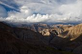 Mountain dramatic landscape in Dolpo area Nepal