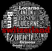 pic of engadine  - Switzerland in word collage - JPG