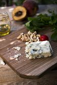 Roquefort Cheese With Indian Nuts