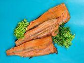 Smoked red fish