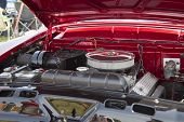 1955 Mercury Montclair Engine