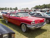 1957 Red Chrysler New Yorker