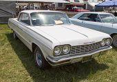 1964 White Chevy Impala Ss