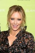 Hilary Duff  at the Rodeo Drive Walk of Style Award Gala. Rodeo Drive, Beverly Hills, CA. 09-25-08