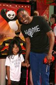 Wayne Brady and daughter Maile  at the Los Angeles Premiere of