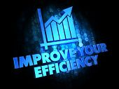 Improve Your Efficiency on Digital Background.