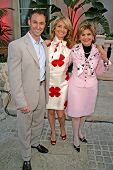 Brayden Pollock with Lisa Bloom and Gloria Allred  at Sober Day USA 2008 Presented by the Brent Shapiro Foundation for Alcohol and Drug Awareness. Private Residence, Beverly Hills, CA. 05-17-08