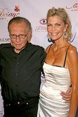 Larry King and Shawn Southwick  at Sober Day USA 2008 Presented by the Brent Shapiro Foundation for Alcohol and Drug Awareness. Private Residence, Beverly Hills, CA. 05-17-08