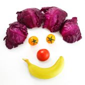 vegetable clown