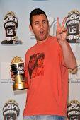 Adam Sandler at the 2008 MTV Movie Awards Press Room. Gibson Amphitheatre, Universal City, CA. 06-01-08