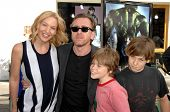 Tim Roth and family  at the World Premiere of