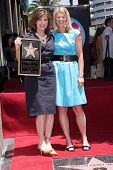 Susan Saint James and sister Mary Mercedes Dewey  at the award ceremony honoring Susan Saint James w