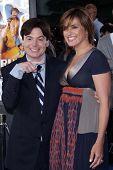 Mike Myers and Mariska Hargitay  at the Los Angeles Premiere of
