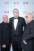 David Geffen and Sir Howard Stringer  at the 36th AFI Lifetime Achievement Award Tribute To Warren Beatty. Kodak Theatre, Hollywood, CA. 06-12-08