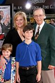 Bernie Koppell and family  at the World Premiere of