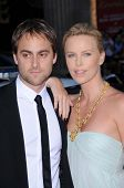 Stuart Townsend and Charlize Theron  at the World Premiere of