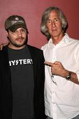 Adam Rifkin and Mick Garris at the Preview Screening of