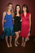 Vanessa Zima with Madeline Zima and Yvonne Zima  at the Preview Screening of
