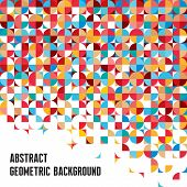 Abstract Geometric Background - Creative Designed Vector Pattern
