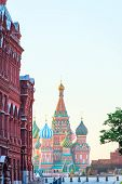 Moscow's Red Square At Dawn