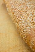 Baguette With Sesame Seeds