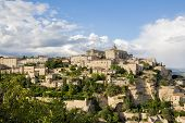 Gordes, One Of The Most Beautiful And Most Visited French Villages