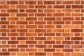 Brick wall texture. Architectural background.