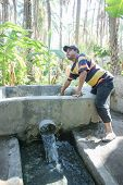 Water Supply In Tozeur Oasis