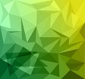 Abstract Business Card Background with triangles fantasy
