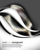 eps10 vector futuristic abstract wave background