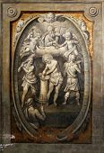 PARMA,ITALY-MAY 01, 2014:Flagellation of the Christ.Basilica Santa Maria della Steccata.Basilica is