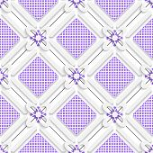Diagonal Purple Checked Squares Pattern