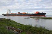 Fraser River Cargo Ship