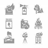 Fire Protection Icons