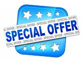 An image of a nice special offer sign for your website