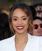 LOS ANGELES - JUN 09:  Amber Stevens arrives to the