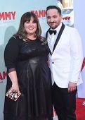 LOS ANGELES - JUN 30:  Melissa McCarthy & Ben Falcone arrives to the