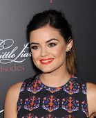 LOS ANGELES - MAY 31:  Lucy Hale arrives to the