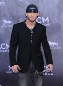 LOS ANGELES - APR 06:  Brantley Gilbert arrives to the 49th Annual Academy of Country Music Awards