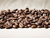 coffee beans border