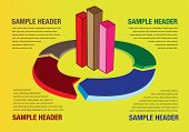 Graph And Chart Business Layout Background