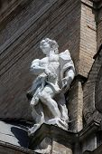 PARMA, ITALY - MAY 01, 2014: Statue of Saint. Basilica Santa Maria della Steccata. Basilica is a Mar