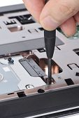 Replacing A Laptop Hard Disk Drive