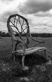 Giant Chair in the Meadow