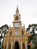 The Saint-Francis Church (Cham Tam Church) in Ho Chi Minh, Vietnam