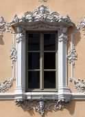 WURZBURG GERMANY - JULY 18: House of Falcon, the finest Rococo style building in the city. Erected i