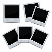 Photo frame on white background.