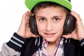 Boy Holding Headphones